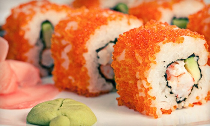 Blue Orchid Asian Grill & Bar - Blossom Hill: $10 for $25 Worth of Sushi at Blue Orchid Asian Grill & Bar