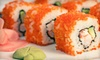 Blue Orchid Asian Grill - Blossom Hill: $10 for $25 Worth of Sushi at Blue Orchid Asian Grill & Bar