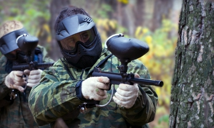 Proving Grounds Paintball - Adams: $20 for Admission, Gear, and 500 Paintballs at Proving Grounds Paintball in Sheridan (Up to $41.17 Value)