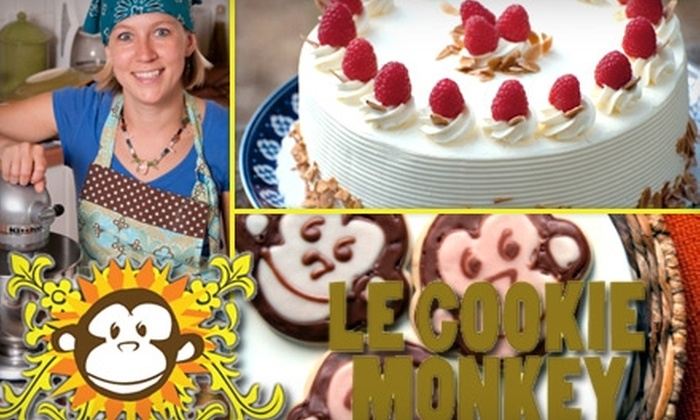 Le Cookie Monkey - Portland: $15 for $30 Worth of Fresh-Baked Creations Delivered from Le Cookie Monkey