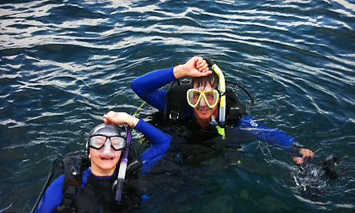 Captain Rob's Scuba Diving - Dania Beach: Basic or Advanced Open Water Diver PADI Scuba Certification Class at Captain Rob's Scuba Diving in Dania (Up to 60% Off)