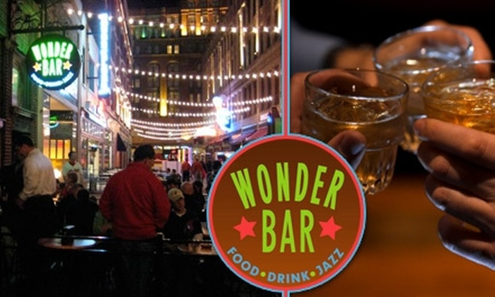 Wonder Bar - Downtown: $15 for $35 Worth of Small Plates and Drinks at Wonder Bar