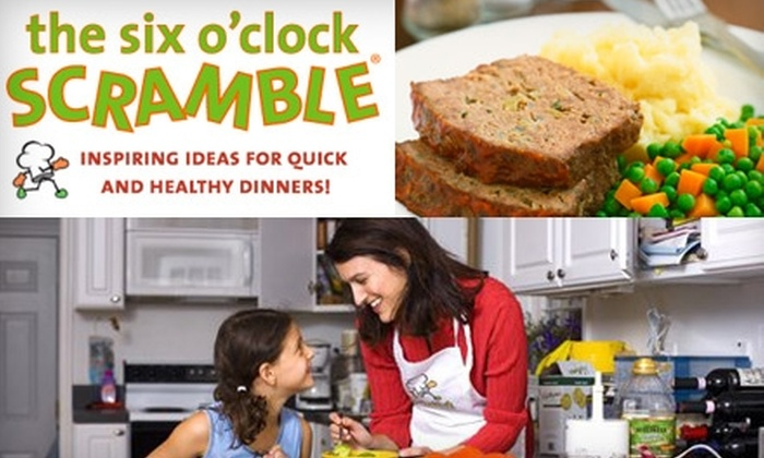 The Six O'Clock Scramble - New York City: $14 for a Six-Month Subscription to the Online Menu-Planning Service The Six O'Clock Scramble ($29.50 Value)