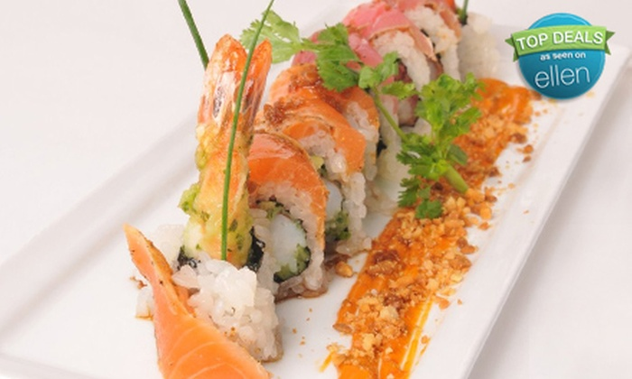 Imperia - Downtown: $15 for $30 Worth of Sushi, Dim Sum, and Asian Fare at Imperia