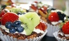 Whole Food For Life - East LA: $12 for an 8-Inch Round Cake or a Dozen Pastries at Whole Food For Life in Atwater (Up to $25 Value)