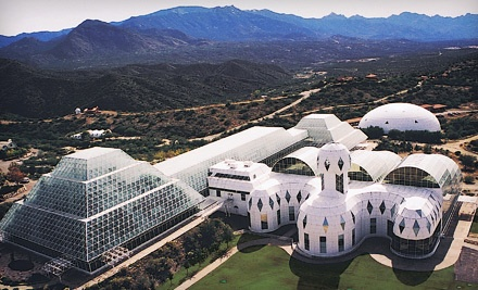 Admission for 2 - Biosphere 2 in Tucson