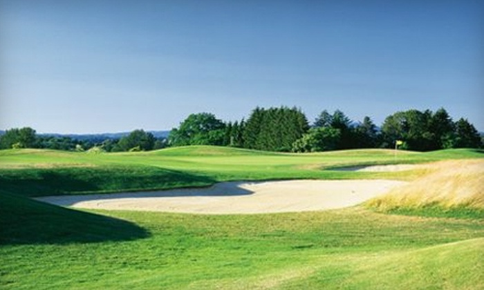 Tri-Mountain Golf Course - Ridgefield: $59 for Two Rounds of Golf with Cart at Tri Mountain Golf Course in Ridgefield (Up to $120 Value)