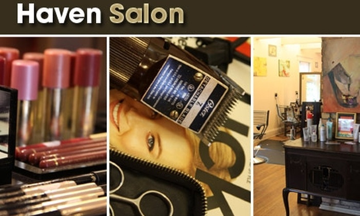 Haven Salon - Lowry Hill East: $45 for Pretty Me Package at Haven Salon ($155 Value)