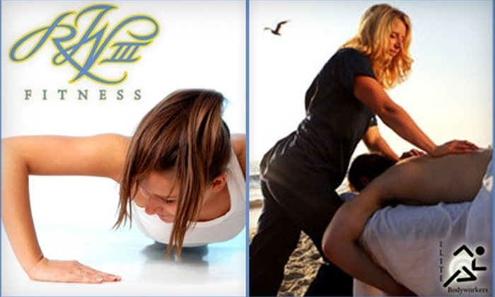 Elite Bodyworkers - La Jolla Village: $39 for One Month of Unlimited Boot Camp Classes at RW3 Fitness or $39 for a 50-Minute Massage at Elite Bodyworkers in La Jolla