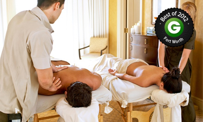 Rejuvenation Ranch - Crowley: $79 for a 60-Minute Swedish Couples Massage with Chocolate Oil and Complimentary Wine at Rejuvenation Ranch ($166 Value)