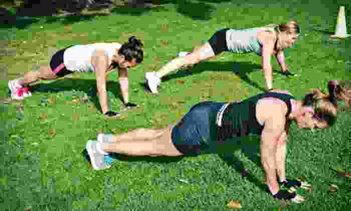 Wired Fitness Boot Camps - Multiple Locations: 10 or 20 Drop-In Boot-Camp Classes from Wired Fitness Boot Camps (Up to 92% Off)