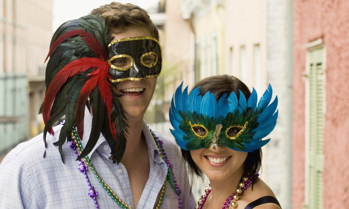 Players Sport & Social Group and My Drink On - Navy Pier: Players Sport & Social Group and My Drink On Mardi Gras Crawl for One, Two, or Four on February 21 (Up to 60% Off)
