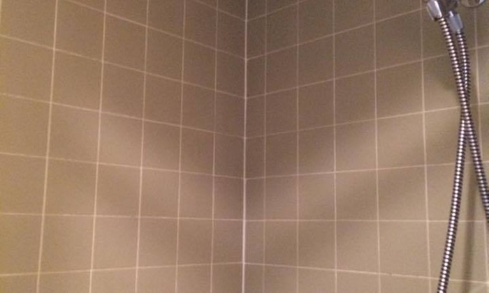 Texas Tile And Stone Care - San Antonio: Shower Grout Cleaning Package from Texas Tile and Stone Care (55% Off)