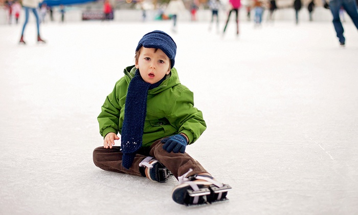 Ben Boeke Ice Arena - Sullivan Arena: $55 for Learn to Skate Classes at Ben Boeke Ice Arena ($84 Value)