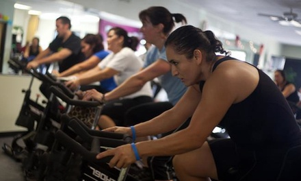 10 or 20 Group Fitness Classes at Sweat Cycling Studio and Personal Training (Up to 83% Off)