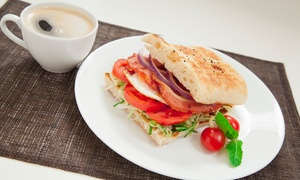 Second Cup Company Inc: Sandwiches and Drinks at Second Cup Coffee Company Inc (40% Off)