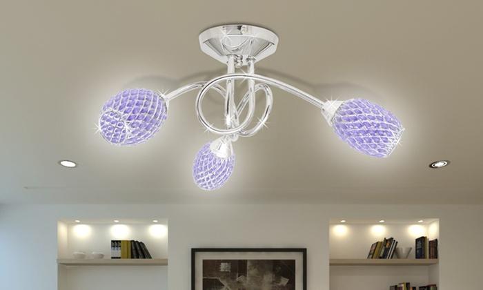 design deckenlampe groupon goods. Black Bedroom Furniture Sets. Home Design Ideas