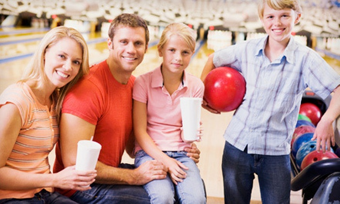 Stonehedge Family Fun Center - North Hill: $29 for a 10-Game Bowling Package with Pizza and Soda at Stonehedge Family Fun Center (Up to $69.74 Value)