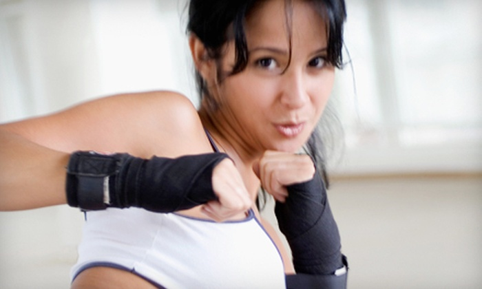 Female Fighters Fitness - Pineville: 10 or 20 Women's Boxing or Jujitsu Classes at Female Fighters Fitness (Up to 73% Off)