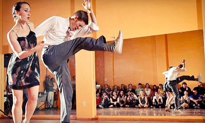 The Lindy Project - Multiple Locations: One Month of Swing-Dance Lessons for One or Two at The Lindy Project (Up to 58% Off)