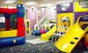 Busy Genie - Multiple Locations: 5 or 10 Drop-In Play Passes or Do-It-Yourself Party Package at Busy Genie (Up to 57% Off). Two Locations Available.