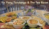 Yin Yang Fandango & the Tango Tea Room - Central City: $6 for $12 Worth of Eclectic World Cuisine and Drinks at Yin Yang Fandango & the Tango Tea Room