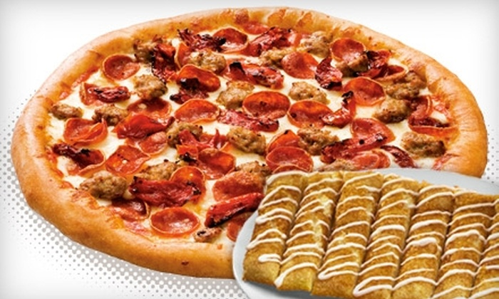 Toppers Pizza - Milwaukee: $5 for $10 Worth of Pizza, Wings, Grinders, and More at Toppers Pizza