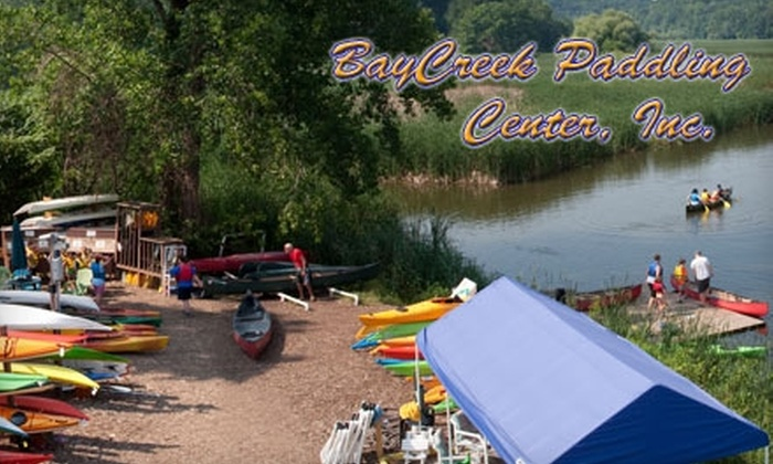 BayCreek Paddling Center - Penfield: $25 for a Basics of Kayaking Course or Back to Nature Kayak Tour from BayCreek Paddling Center (Up to $45 Value)