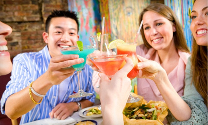 Barcrawls.com - Multiple Locations: Cinco de Mayo Bar Crawl for One, Two, Four, or Six on May 4 and 5 from Barcrawls.com (Up to 63% Off)