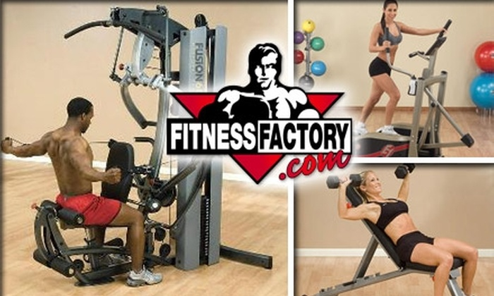 Fitness Factory Outlet - Boston: $50 for $100 Worth of Equipment from Fitness Factory Online