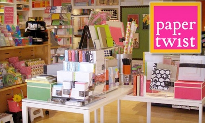 Paper Twist - Barclay Downs: $15 for $30 Worth of Gift Wrap, Stationery, Office Supplies, Classes, and More at Paper Twist