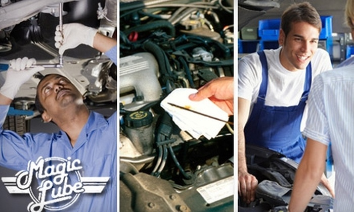 Magic Lube - Multiple Locations: $19 for a Full-Service Oil Change at Magic Lube ($39.95 Value)