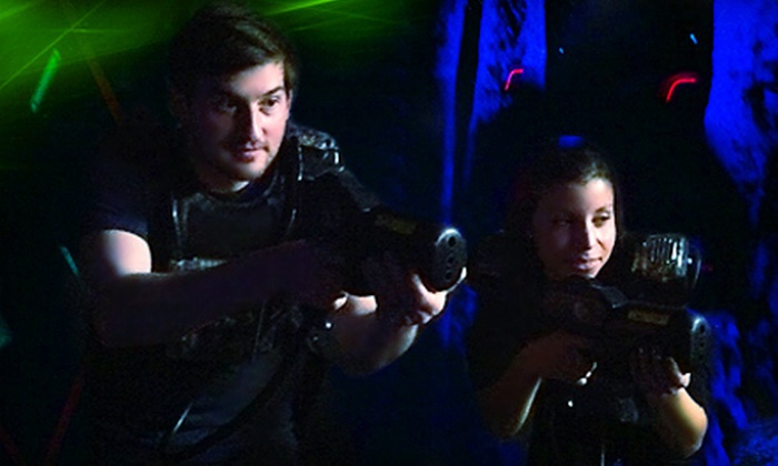Party Time Palace - Des Plaines: Day of Unlimited Play with Game of Laser Tag for Two, Four, or Six at Party Time Palace in Des Plaines (Up to 55% Off)