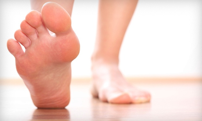 Pedicuria Cosmetic Foot Care - Williamsburg: $299 for Laser Toenail-Fungus Treatment for Both Feet at Pedicuria Cosmetic Foot Care (Up to $1,200 Value)