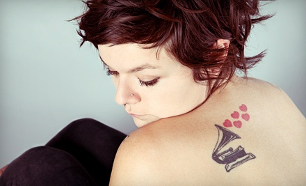 1 Session of Laser Tattoo Removal for up to 9 Square Inches (a $275 value) - Motor City Tattoo Studio in Oshawa