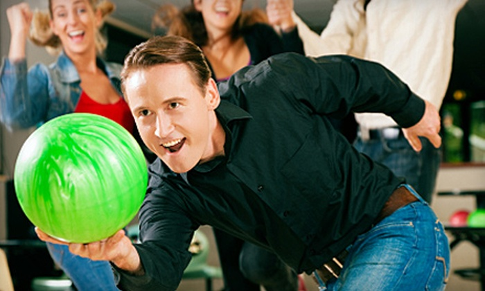 Ford Lanes and Bel-Mark Lanes - Multiple Locations: $19 for Bowling Outing for Two with One Large Pizza at Ford Lanes or Bel-Mark Lanes
