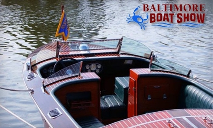 National Marine Manufacturers Association - Inner Harbor: $5 for One-Day Admission to the 57th Annual Baltimore Boat Show (Up to $10 Value)