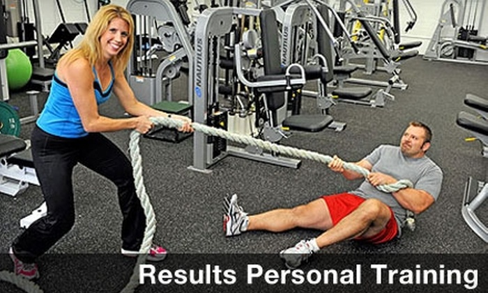 Results Personal Training - Warrensville Heights: Personal-Training Sessions from Results Personal Training in Warrensville (Up to $180 Value). Choose from Two Options.
