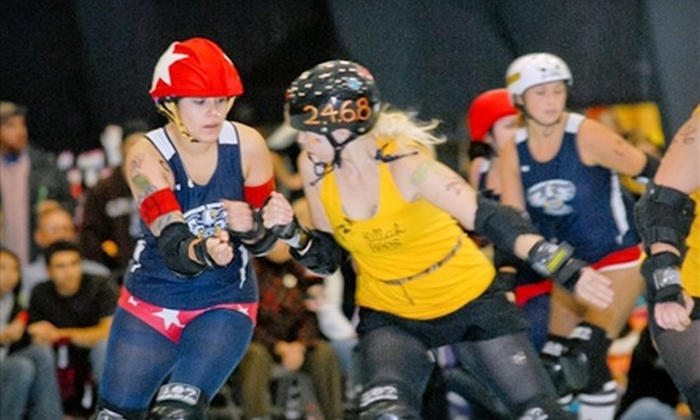 CT RollerGirls - Woodbridge: $6 for Ticket to CT RollerGirls Bout in Woodbridge (Up to $12 Value)