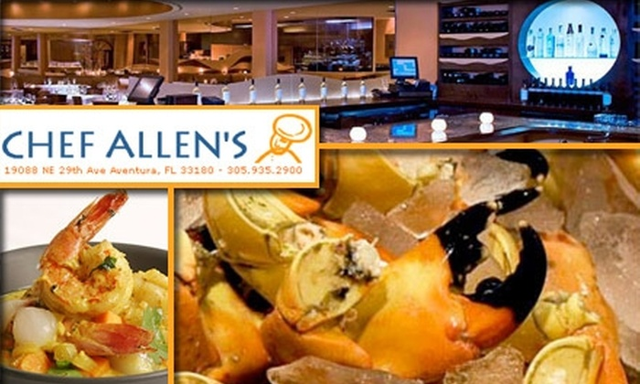 Chef Allen's - Aventura: $25 for $50 Worth of Dinner and Wine at Chef Allen's