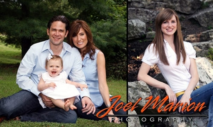 Joel Marion Photography - St Louis: $50 for a One-Hour Portrait Session and High-Resolution DVD of Images at Joel Marion Photography ($500 Value)