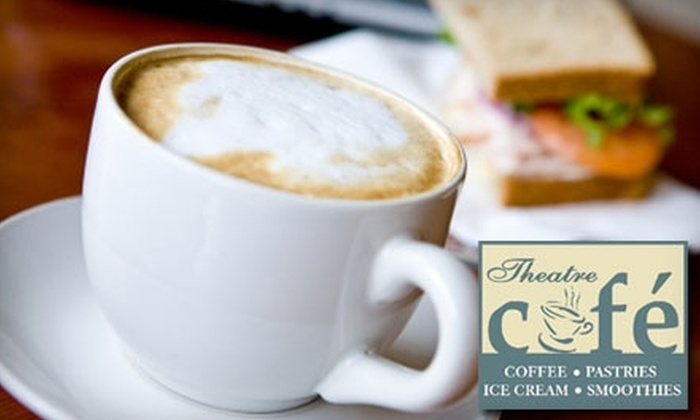 Theatre Cafe Worcester - Central Business District: $5 for $10 Worth of Cafe Cuisine and Drinks at Theatre Cafe