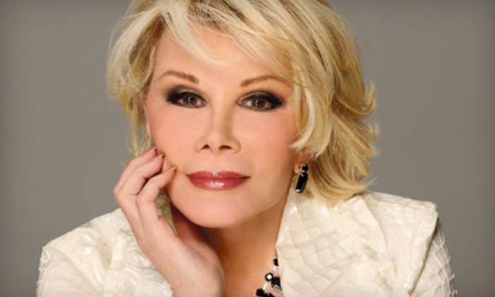 Joan Rivers - Northern Alberta Jubilee Auditorium: One Ticket to See Joan Rivers at Northern Alberta Jubilee Auditorium on December 6 at 8 p.m. Two Options Available.