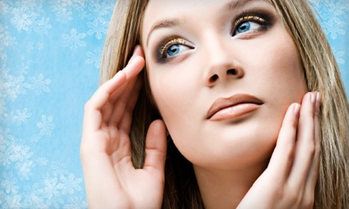 Blue Sugar Salon & Spa at Ten X Club - Multiple Locations: $65 for a Spa Package with a Body Treatment and Mini Facial at Blue Sugar Salon and Spa at Ten X Club ($135 Value)