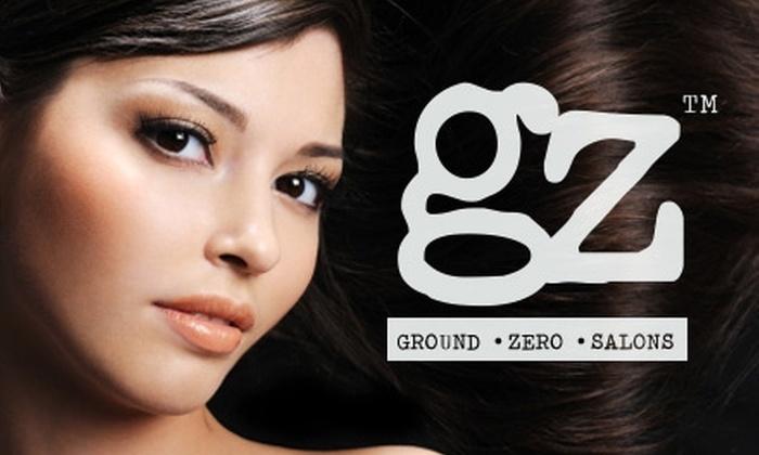 Ground Zero Center City - Logan Square: $49 for $100 Worth of Hair-Care Services at Ground Zero Center City