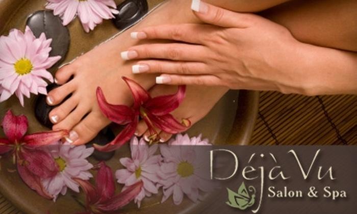 Deja Vu Salon & Spa - Fairfield: $39 for a Basic Manicure and Pedicure at Déjà Vu Salon & Spa ($90.40 Value)