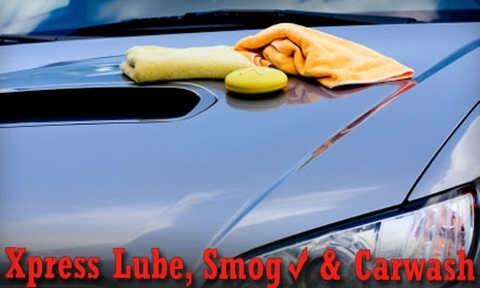 Xpress Lube, Carwash & Smog Center - Willow Creek Station: $29 for Eight Ultimate Washes at Xpress Lube, Carwash & Smog Center ($80 Value) or $5 for One Ultimate Wash ($10 Value)