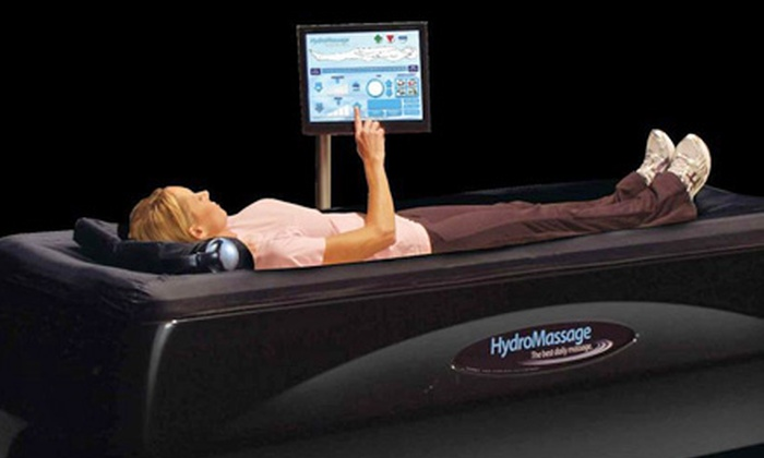 Central Chiropractic - Northtown: $15 for One Month of Unlimited HydroMassage Table Use at Central Chiropractic ($30 Value)