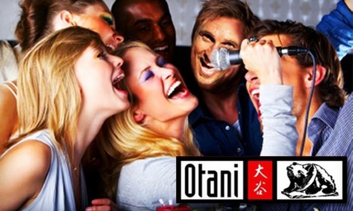 Otani's Sushi & Karaoke Bar - Salem Village: $40 for a Two-Hour Karaoke Party for Up to 20 People at Otani's Sushi & Karaoke Bar ($100 Value)