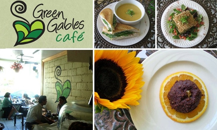 Green Gables Cafe - Coral Gables Section: $10 for $20 Worth of Organic and All-Natural Food at Green Gables Cafe